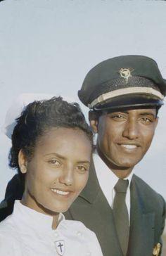 Ethiopian Airlines Pilot & Woman