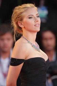 Scarlett Johansson at the Venice Film Festival 'Under the Skin' premiere, September 3rd.