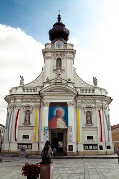 Wadowice - the hometown of the Holy John Paul II