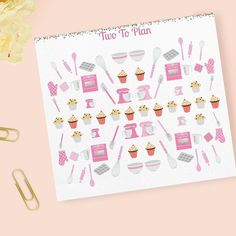 These stickers are perfect for all the holiday baking we plan to do!  by twotoplan