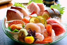 Sashimi Platter @ The Kitchen