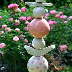 Garden Art, Clay, Inspiration, Pink, Ceramics, Pottery, Lanterns, Play Dough, Balcony