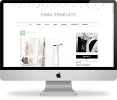 Check out Posh Template by Kay Brighton Studio on Creative Market #designtemplates