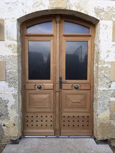 Superbe #porte en #chene   #Atulam #porte Armoire, Furniture, Home Decor, Carpentry, Puertas, Woodwind Instrument, Home, Clothes Stand, Decoration Home