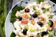 Pudding Desserts, Dessert Recipes, Waldorf Salat, Pale Ale Beers, Norwegian Food, Malted Barley, Fruit Salad, Salad Recipes, Tapas