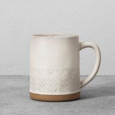 Stoneware Dots Mug 14oz - Cream - Hearth & Hand™ with Magnolia at Target. Available November 5th. Affiliate link.