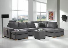 Atlanta finnes i mange forskjellige oppsett og gir muligheter for å finne en sofa til alles behov. Atlanta er prisgunstig, har god kvalitet og en fantastisk sittekomfort. Velg mellom faste standard ryggputer eller kuvertputer. 3 forskjellige armlen, og en mengde forskjellige farger og stoffer. I stoff fra 10.995,- I skinn fra 14.995,- Priser varierer for …