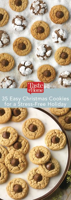 35 Easy Christmas Cookies for a Stress-Free Holiday