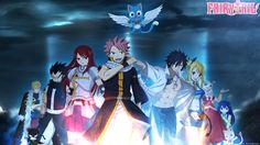 For those of you that haven't heard of it, Fairy Tail is an anime that started in 2009, based on the manga by Hiro Mashima. Description from theoneeyedreview.wordpress.com. I searched for this on bing.com/images