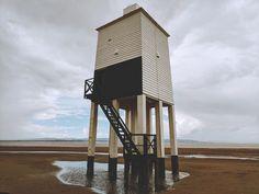 My Summer Wishlist: Waves, Caves and Quaint Cottages - Lighthouse - Burnham on Sea Burnham, Caves, Ethereal, Cottages, Lighthouse, Life Is Good, Sea, Writing, World