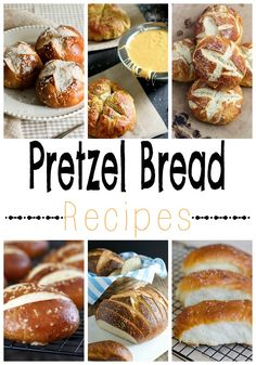 Pretzel Bread Recipes