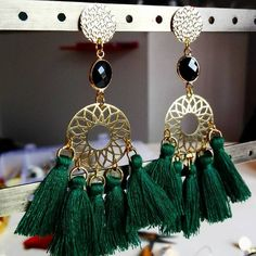 Boucles d'oreilles DIY Earings - Made by me