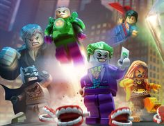 The immense co-op platform fun of LEGO Batman 3 hits shelves next week. Here's five reasons you should be excited. Lego Batman 3, Batman Arkham City, Lego Marvel, Gotham, Big Lego, Cool Lego, La Grande Aventure Lego, Lego Dc Comics, Lego Knights