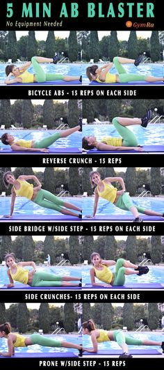 5 Min #Abs Workout. Short & sweet routine to sculpt & slim!