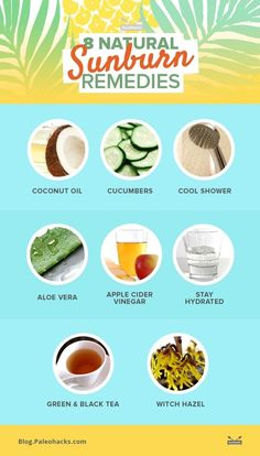 On a hot summer day, sunshine can be your best friend and worst enemy at the same time. Getting your dose of vitamin D is crucial for your health, but too much sun can be harmful to your skin. Protect your skin the healthy way, with these natural remedies. For the full article, visit us here: http://paleo.co/SunRemedies
