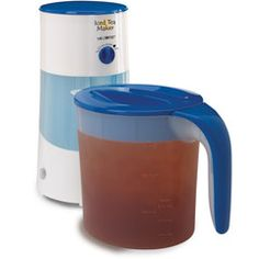 Mr. Coffee® 3 Quart Iced Tea Maker   Couldn't live without mine!! Makes the BEST iced tea :)