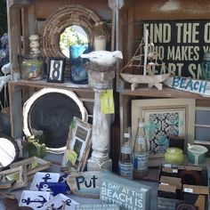 For my love of the beach, that's what My husband mom sells!  Super cute.  Her next show is in July.