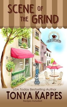 Scene of the Grin is the 1st book in a new coffee house mystery, A KILLER COFFEE MYSTERY