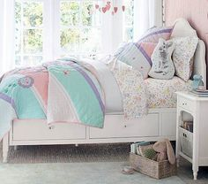 kids white bedroom furniture juliette storage twin bed + luxury firm mattress, french white BNNWFAR - Home Decor Ideas Cottage Furniture, White Bedroom Furniture, Baby Furniture, Upholstered Furniture, Furniture Sets, Wooden Furniture, Luxury Furniture, Furniture Design, Outdoor Furniture