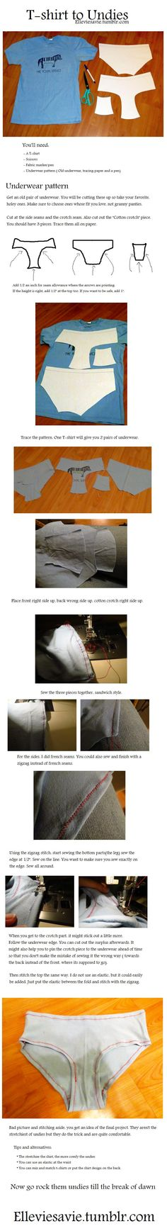 Undie tutorial by ~Elleviesavie on deviantART