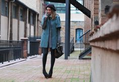 TWO-WAY WOOL COAT | My Daily Style en stylelovely.com