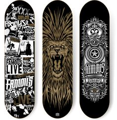 100 Crazy Skateboard Designs | Abduzeedo Design Inspiration & Tutorials
