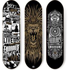 100 Crazy Skateboard Designs   Abduzeedo Design Inspiration & Tutorials