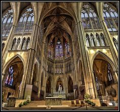 RT @EuropesHistory: Metz Cathedral, which has the largest expanse of stained glass...