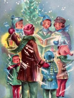 Christmas Caroling Images.734 Best Christmas Caroling Images In 2019 Christmas Vintage