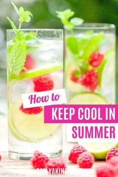 When the temperature starts to rise, you need ways to help you stay cool. From what to eat to how to get a good night's sleep, these 25 low-cost, low-tech tips will help you feel more comfortable when the summer heat gets going. Click through to find out how to keep your cool this summer! #summer #cool Stay Cool, Keep Your Cool, Summer Heat, Good Night Sleep, Gardening Tips, How To Find Out, How Are You Feeling, Home And Garden, Tech