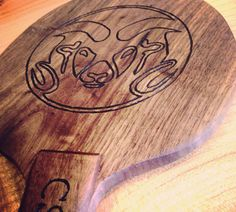 Ping Pong Paddle Engraved Ping Pong Paddle by SodaCreek on Etsy