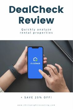 Review of the app DealCheck. How to analyze properties with the DealCheck app. Use DealCheck for rental properties. Rental property calculations. Investment Property, Rental Property, Investing Apps, Any App, Personal Finance, Budgeting, Articles, How To Plan