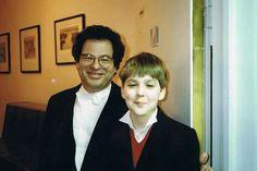 DG and Itzhak Perlman