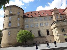 https://flic.kr/p/qr8tVv | Stuttgart, Baden-Württemberg, Germany (Landesmuseum Württemberg Altes Schloss), State Museum Württemberg in Old Castle (Schillerplatz), Vecchio Castello, Palacio Viejo, Vieux Palais (Stauffenberg-Erinnerungsstätte - Memorial) | Stauffenberg memorial in Stuttgart's Old Castle Entrance of Stauffenberg memorial The Stauffenberg memorial in Stuttgart's Old Castle is dedicated to the Hitler assassin Claus Schenk count von Stauffenberg and his brother and co-conspirator…