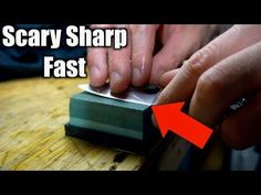 The Biggest Beginner Knife Sharpening Mistake. Knife sharpening doesn't have to be hard or time consuming. This will significantly shorten you sharpening tim. Swiss Army Pocket Knife, Best Pocket Knife, Survival Knife, Survival Prepping, Survival Gear, Survival Skills, Knife Stand, Sharpening Tools, Tactical Pocket Knife