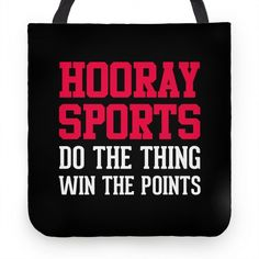 Hooray Sports #school #sports #hooray #dumb #points #game #tote