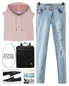 """""""the world is not kind"""" by scarlett-morwenna ❤ liked on Polyvore featuring adidas and vintage"""