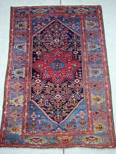 old tribal rug