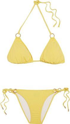 Pin for Later: You'll Want to Act Fast to Grab These Last-Minute Summer Sale Bargains Melissa Odabash Palm Triangle Bikini Melissa Odabash Palm Triangle Bikini (£77, originally £172)