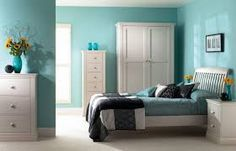 Slaapkamer Ideeen Turquoise : Turquoise love this colour inspiration for fabulous