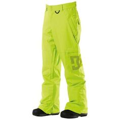 DC Banshee Ski Snowboard Pants Lime Men's