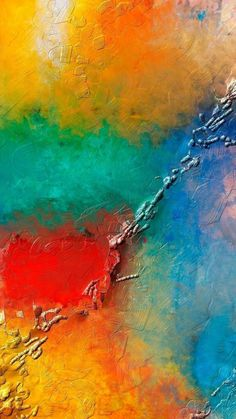 Textures iPhone 6 Plus Wallpapers - Colorful Wall Paint Texture iPhone 6 Plus HD Wallpaper