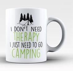 Camping Therapy - Can Cooler