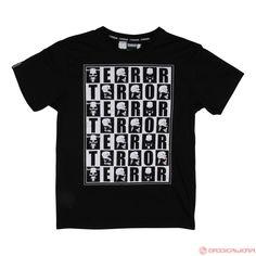 Terror T-Shirt Checkmate (Black) | 805-007-050