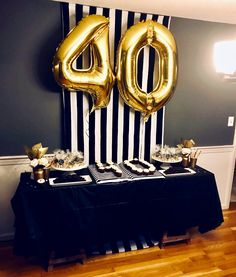 Birthday Ideas For Men Party Trendy Ideas Backyard Birthday Parties, 90th Birthday Parties, Man Birthday, Birthday Ideas, Diy Party Picture Frame, Simple Birthday Decorations, Man Party, Party Hats, Gatsby Themed Party