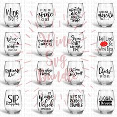 Wine Bundle Svg, Wine Svg, Wine Sayings Svg, Wine Glass Svg, Drinking Svg, Wine Svg Files, Wine Quote Svg, Svg For Wine Glass, Svg Bundle