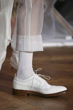 See detail photos for Thom Browne Spring 2018 Ready-to-Wear collection.