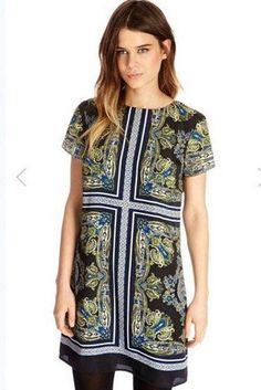 vestido manga corta - Buscar con Google
