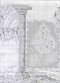 Cross stitch pattern,Toscana 8 of 9.