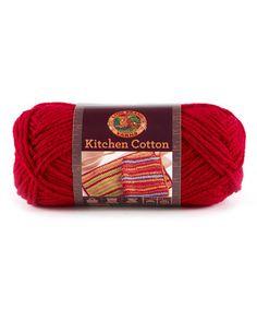 Hot Pepper Kitchen Cotton Yarn - Set of Three #zulily #zulilyfinds